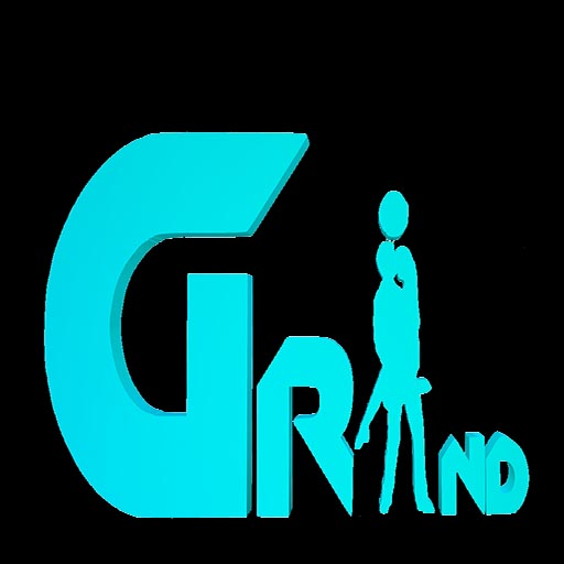 black grind logo